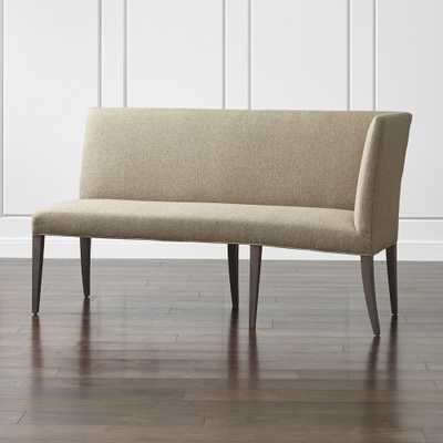 Miles Right Facing Return Banquette Bench - Crate and Barrel
