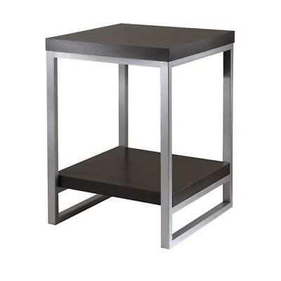 Winsome Wood Jared Dark Espresso End Table - 93418 - eBay