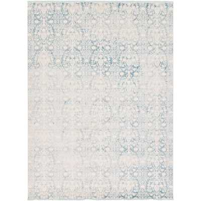 Arcadia Light Blue 10 ft. x 13 ft. Area Rug - Home Depot