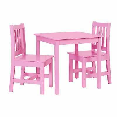 Jude Pink Kids Table and Chair Set - eBay