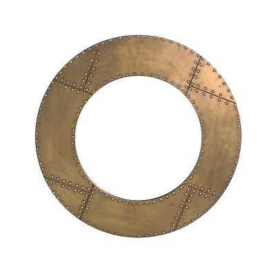 Elio 31.5 Inch Round Gold Mirror - eBay