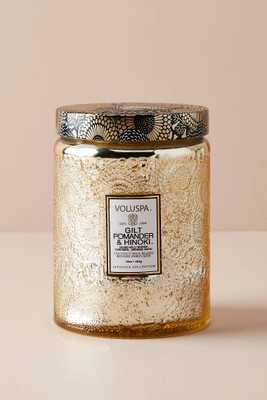 Limited Edition Voluspa Cut Glass Jar Candle - Anthropologie