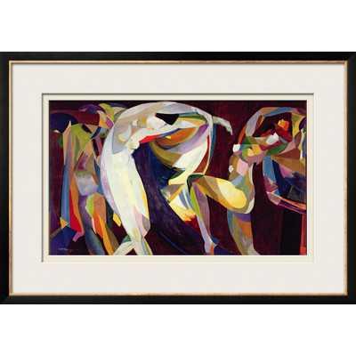 'Dances, 191415' by Arthur Bowen Davies Framed Graphic Art - Wayfair