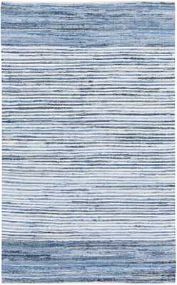 Halle Rug, 5'x8', Bright Blue - Cove Goods