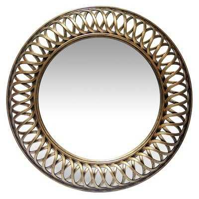 Hawk Ridge Lattice Accent Mirror - Wayfair