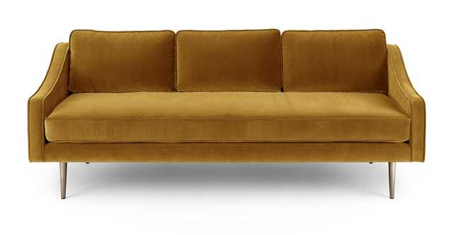 Mirage Yarrow Gold Sofa - Article