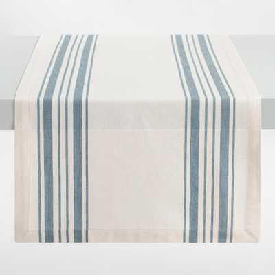 Blue Villa Stripe Table Runner - Cotton by World Market - World Market/Cost Plus