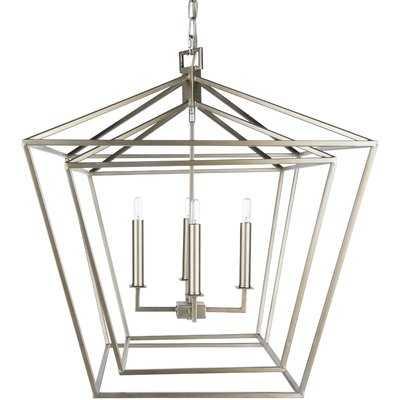 Susanna Transitional 4-Light Lantern Chandelier - Wayfair