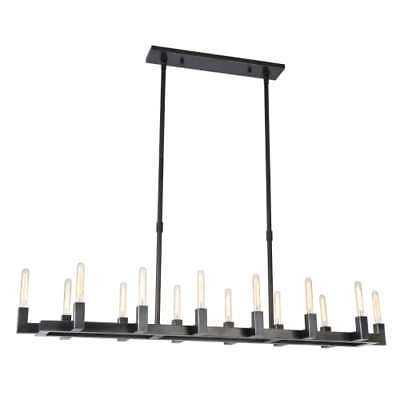 "Elegant Lighting 1525G66BZ Corsica 66"" 14-Light Chandelier - eBay"