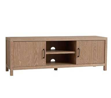 Charlie Media Console, Smoked Gray, Unlimited Flat Rate Delivery - Pottery Barn Kids