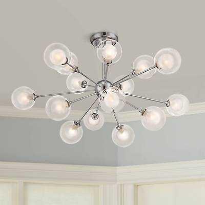 Possini Euro Design Glass Sphere 15-Light Ceiling Light - eBay