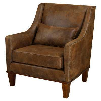 Clay Leather Armchair - Birch Lane