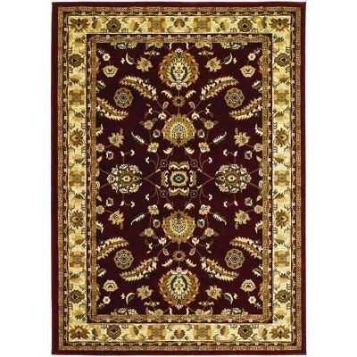 Couristan Anatolia Floral Heriz/ Red-cream Rug (9' x 13') - eBay