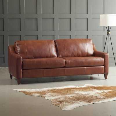 Jesper Leather Sofa - Wayfair
