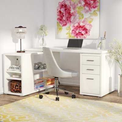 Drewes 3 Drawer L-Shaped Desk - AllModern