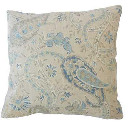 Darlene Paisley Pillow - Wayfair
