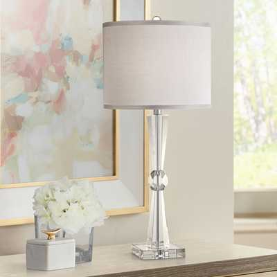 Linley Collection Element Crystal Table Lamp - Style # Y4760 - Lamps Plus