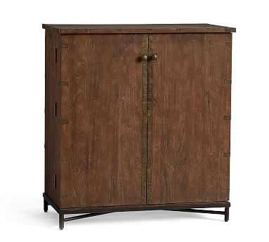 Timor Bar Cabinet, Antique Brown - Pottery Barn