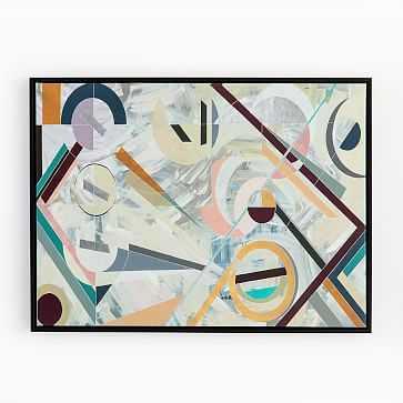 Framed Print, Modern Deco - West Elm
