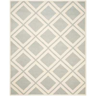 Chatham Grey/Ivory 8 ft. x 10 ft. Area Rug, Gray/Ivory - Home Depot