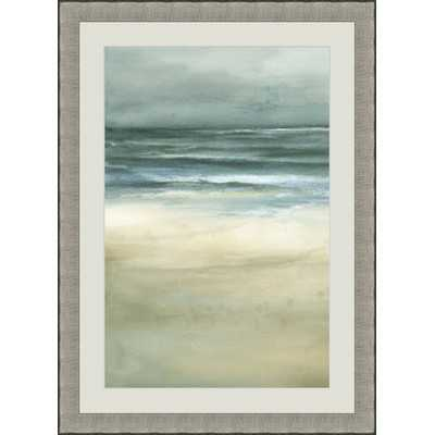 'Sea I' Framed Painting Print - Wayfair