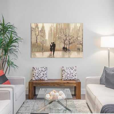 An Evening Out I Painting Print on Wrapped Canvas - Wayfair