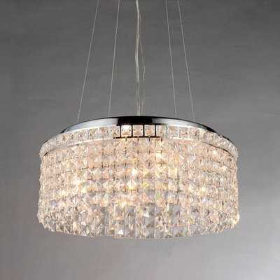 Reynold 4-Light Crystal Chandelier - Wayfair