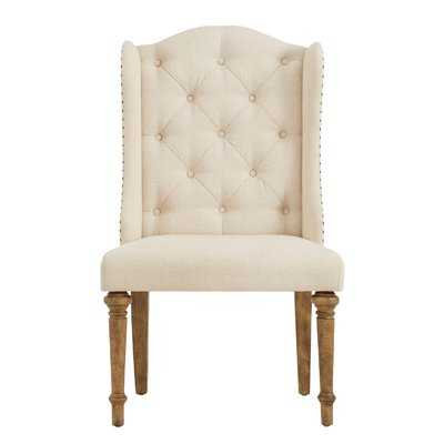 Button Tufted Upholstered Dining Chair - Birch Lane