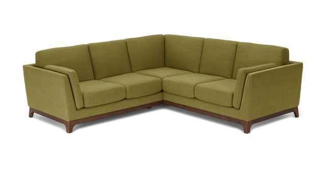 Ceni Seagrass Green Corner Sectional - Article