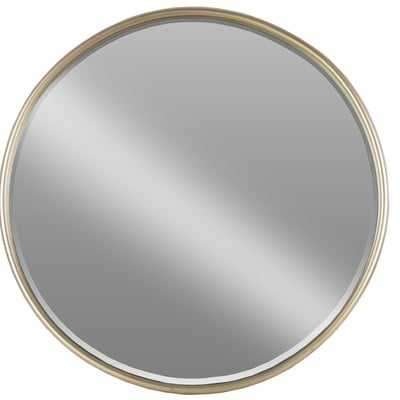Lona Metal Round Accent Mirror - Wayfair