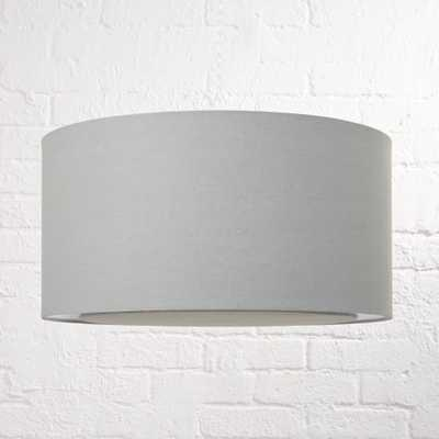 Grey Drum Pendant Light - Crate and Barrel