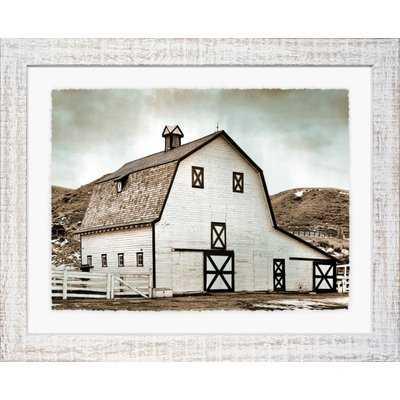 'Farmhouse' Framed Print III - Wayfair