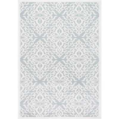 Contessa Silver 8 ft. x 10 ft. Area Rug - Home Depot