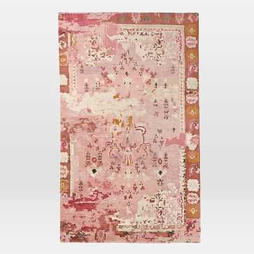 Persian Rug, Pink, 8'x10' - West Elm