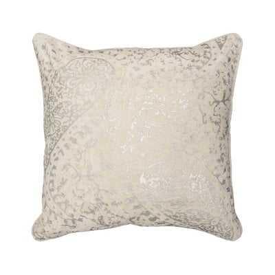 Ashlyn Metallic Throw Pillow - Wayfair