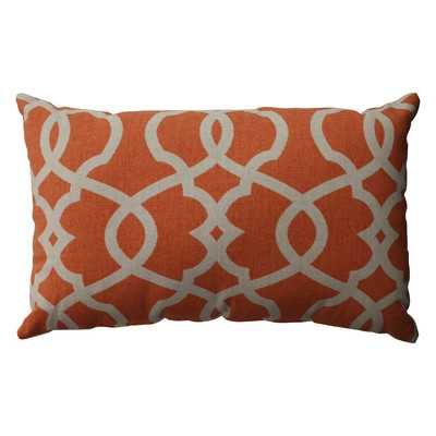 Brennan Cotton Lumbar Throw Pillow - Birch Lane