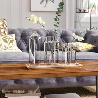 Shoshana 6-Piece Vase Set with Tray - Birch Lane