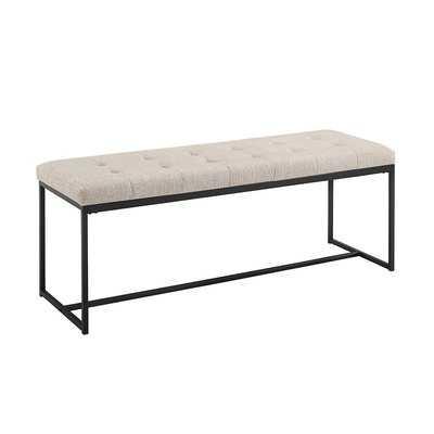 """Bennett 48"""" Upholstered Bench - Wayfair"""