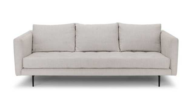 Parker Coconut White Sofa - Article