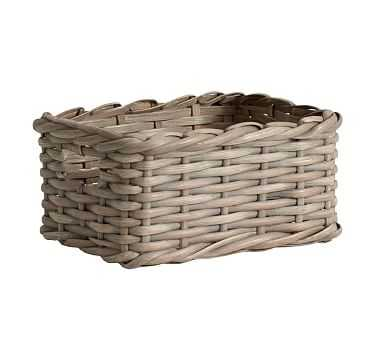 Aubrey Woven Utility Basket - Pottery Barn