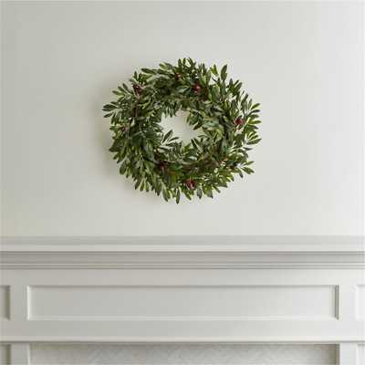 Olive Wreath - Crate and Barrel