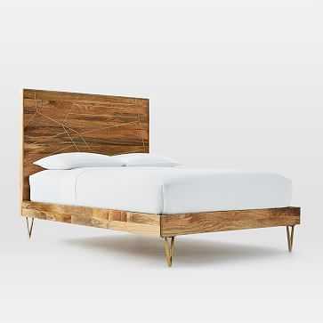 Roar + Rabbit Bed - King, Mango/Brass - West Elm