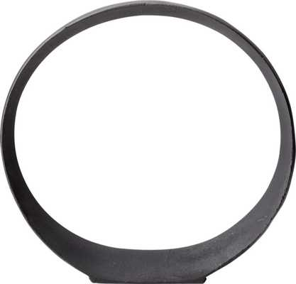 Large Metal Ring Sculpture - CB2
