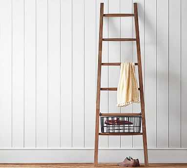 Lucy Leaning Ladder - Pottery Barn