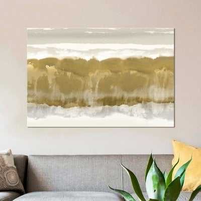 'Undertone' Painting Print on Wrapped Canvas - Wayfair