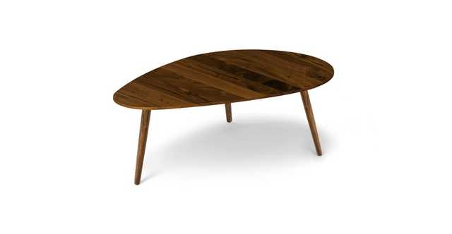 "Amoeba Wild Walnut 42.5"" Wide Coffee Table - Article"