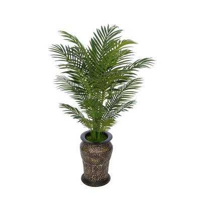 Artificial Floor Areca Palm Tree in Planter - Wayfair