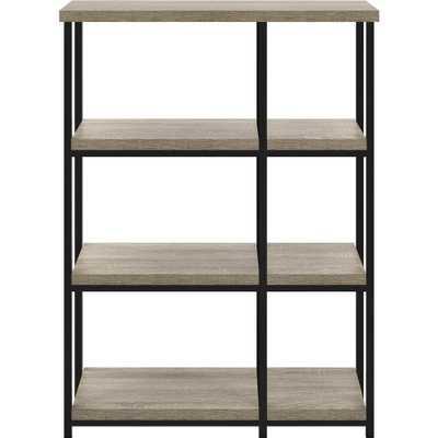 Seneca Weathered Oak Bookcase - Home Depot