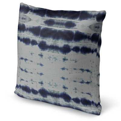 Shibori Stripe Accent Pillow - Wayfair