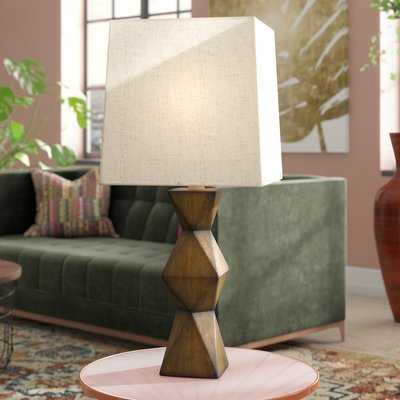 "Chambray Stacked Diamond 20.5"" Desk Lamp - AllModern"